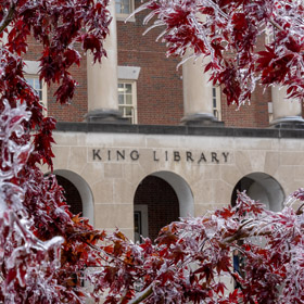 Winter break brings reduced library hours