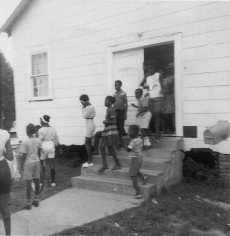 Students at Freedom School in Mississippi