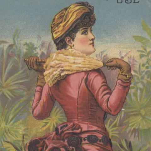 Star Soap trade card circa 1885